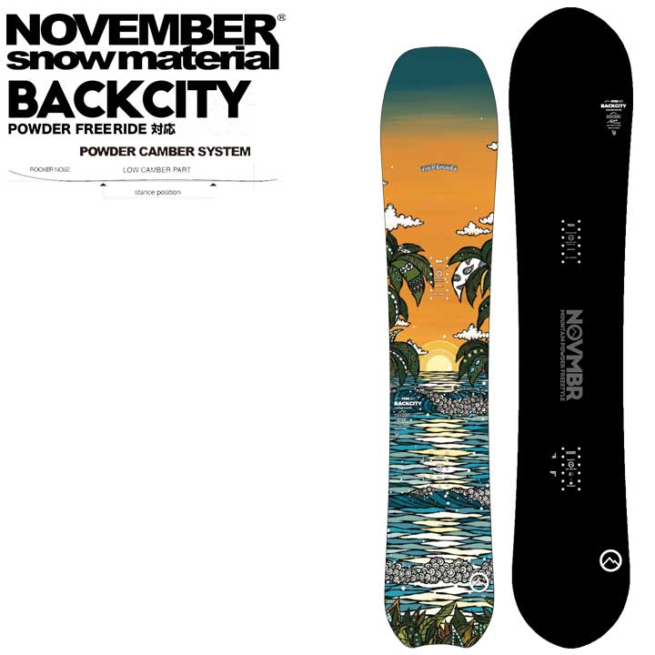 20-21 NOVEMBER ノベンバー ノーベンバー BACKCITY バックシティー 送料無料 メンズ MENZ 男性用 パウダー オガサカ 予約