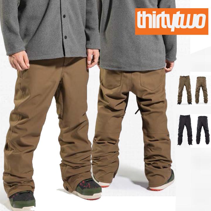 20-21 THIRTYTWO サーティーツー WOODERSON PANT スノーボードウェアー メンズ パンツ スノボウェアー 正規品