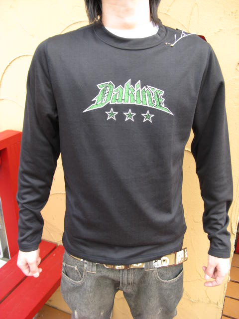 DAKINE FIRST LAYER Midweight Arcline Base Top L/S BLACK 【S/L】