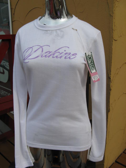 DAKINE FIRST LAYER Girls Midweight S Central Top L/S white 【S】