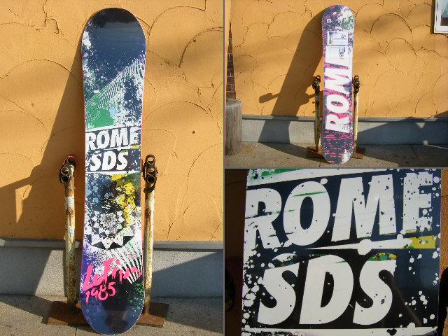 10 ROME SDS SNOWBOARDS LO-FI Rocker 【143】【smtb-f】
