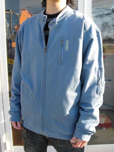 VONZIPPER jip up sweat BLUE XL