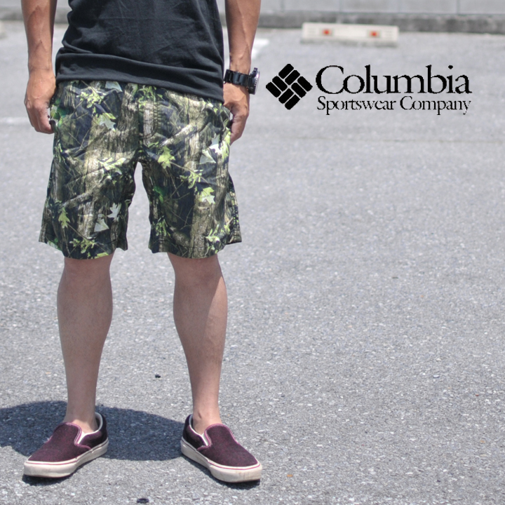 COLUMBIA コロンビア REAP THE REWARDS HUNTING PTTRNED SHORT