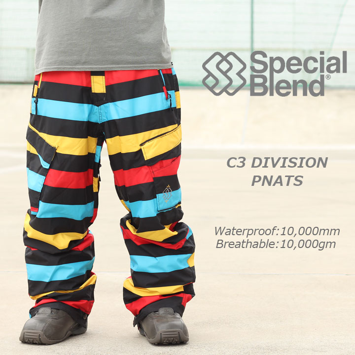 SPECIALBLEND スペシャルブレンド C3 DIVISION PANTS ディビジョンパンツ PRIME 50%OFF