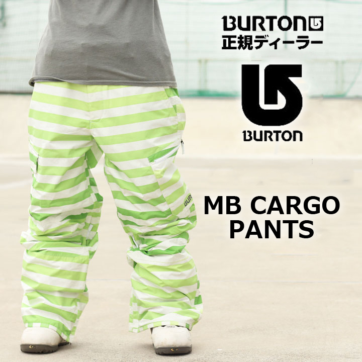 スノーボードウェア ウエアー SNOWBOARD WEAR 返品不可 大きいサイズ ビッグサイズ ラージサイズ BURTON 直送商品 PANTS ABSYNTH CARGO バートン MB 60%OFF カーゴパンツ