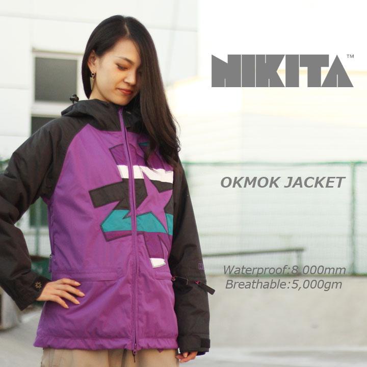 NIKITA ニキータ OKMOK JACKET オクモックジャケット PURPLE 30%OFF