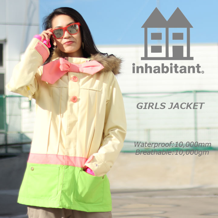 INHABITANT インハビタント GIRLS JACKET ガールズジャケット IH382OT50 30%OFF