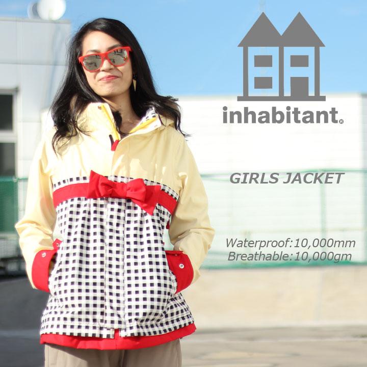 INHABITANT インハビタント GIRLS JACKET ガールズジャケット IH382OT52 BK 30%OFF