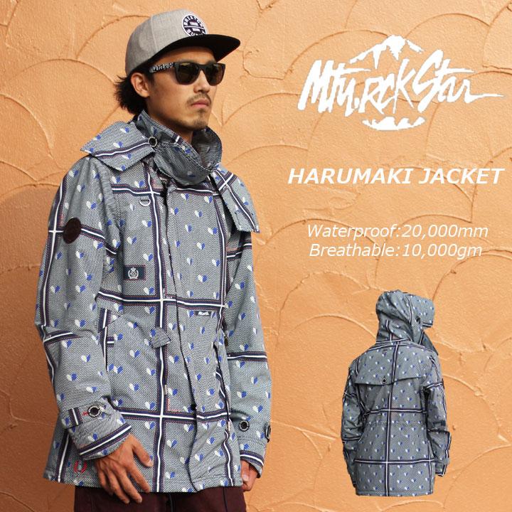 MTN.ROCKSTAR マウンテンロックスター HARUMAKI HARUMAKI MTN.ROCKSTAR JACKET JACKET ハルマキジャケット 30%OFF, アトミックサイクル:05975f26 --- sunward.msk.ru