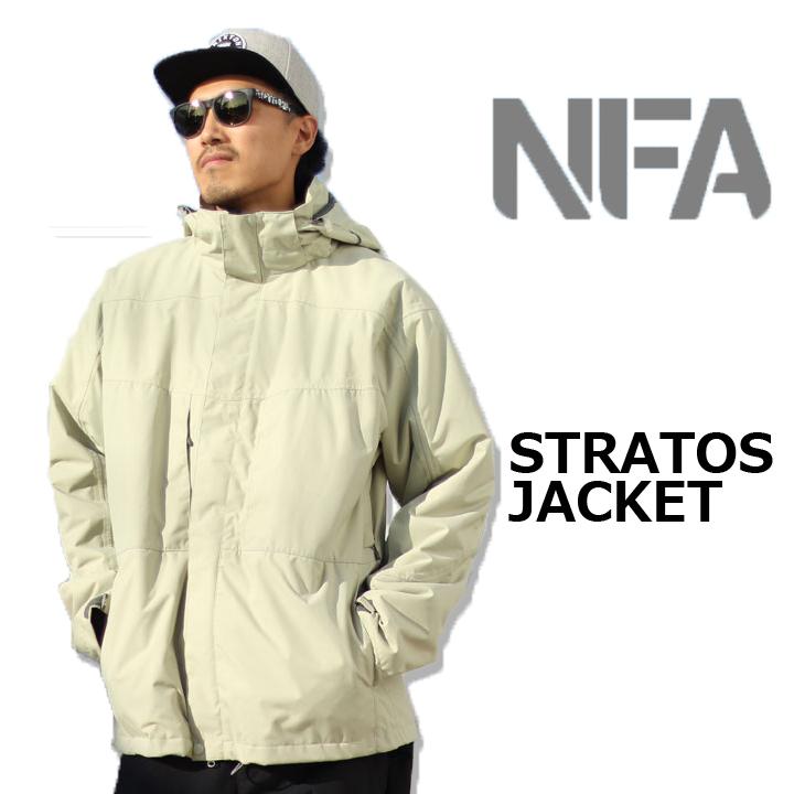 NFA エヌエフエー STRATOS JACKET ストラトスジャケット SAND 激安特価品