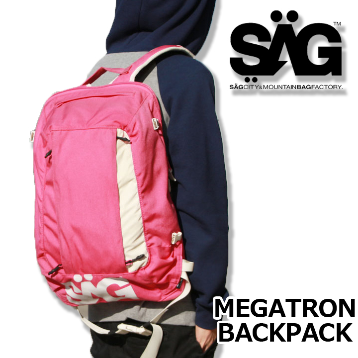 SAGLIFE サグライフ MEGATRON BACKPACK メガトロンバックパック PINK 40%OFF 送料無料