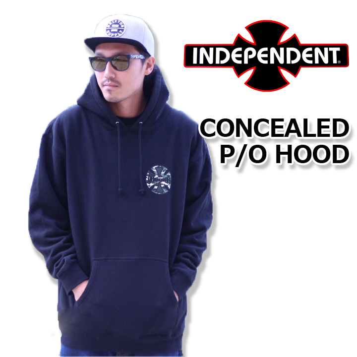 INDEPENDENT インデペンデント CONCEALED P/O HOOD