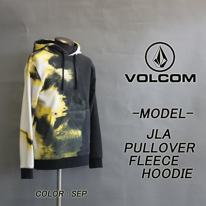 VOLCOM ボルコム JLA PULLOVER FLEECE HOODIE フーディー 30%OFF SALE