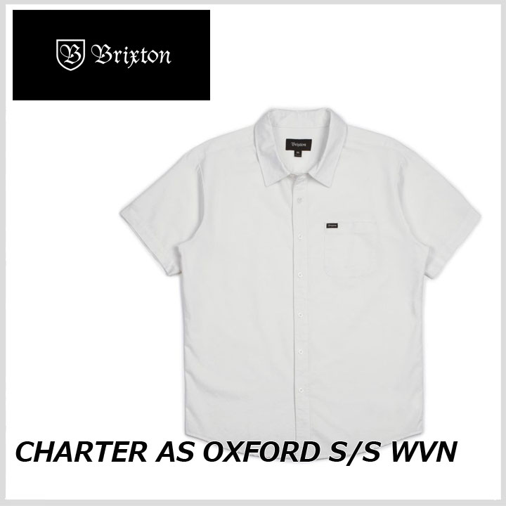 BRIXTON ブリクストン CHARTER AS OXFORD SS WOVEN