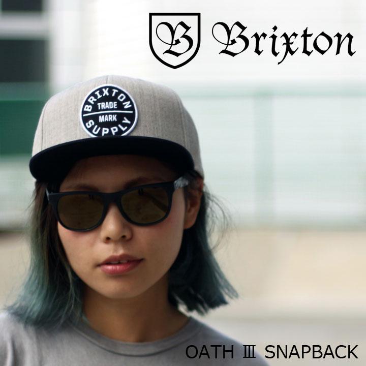 BRIXTON ブリクストン OATH3 SNAPBACK