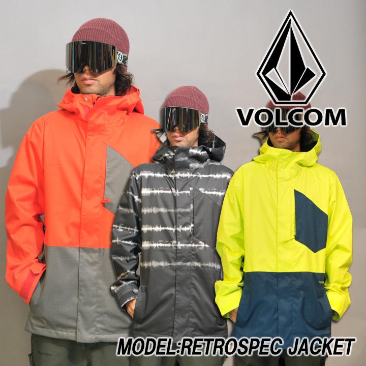 VOLCOM ボルコム RETROSPEC JACKET レトロスペックジャケット 16-17 送料無料 40%OFF