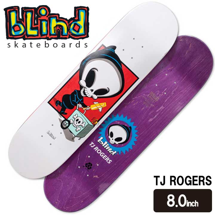 BLIND ブラインド WHITE REAPER BOX SERIES TJ ROGERS 8.0