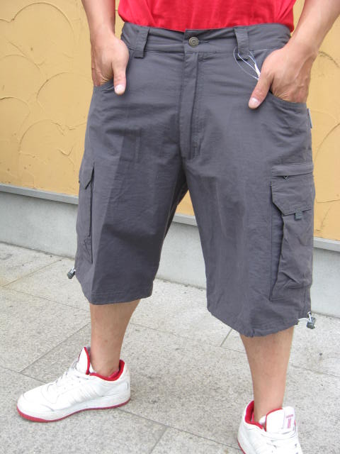 ★Special Sale!! 20%OFF!!★ UN RIDERS SHORT PANT GRAY M:ソサイアティ&ソル03
