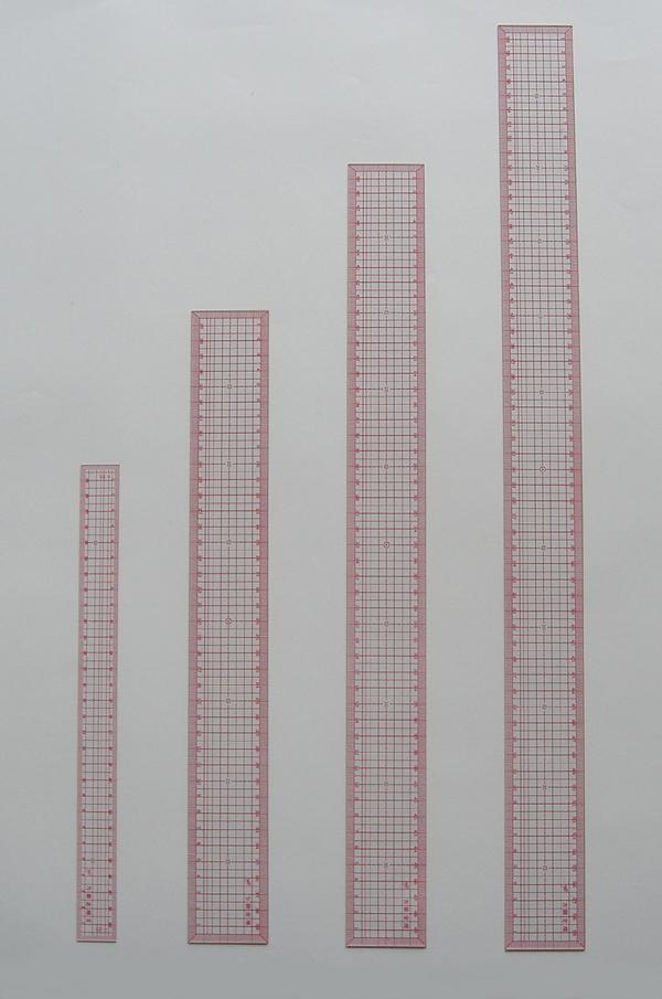 すみれのマーク 方眼定規デラックス60cm(600x50x1.4mm)