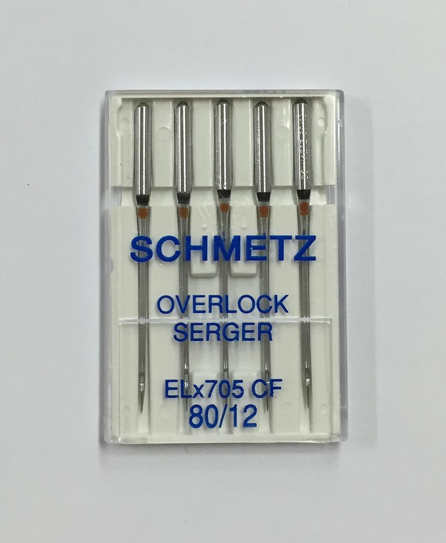 新作からSALEアイテム等お得な商品 満載 ドイツ製 《SCHMETZ》シュメッツ 限定品 ドイツ製家庭用ミシン針 オーバーロック用針OVERLOCK SERGER ELx705 CF