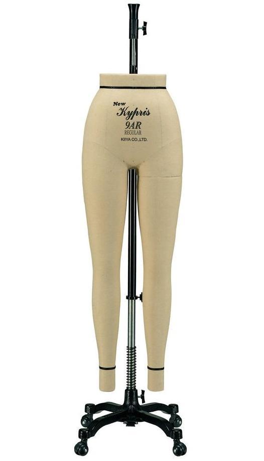 《キイヤ》 レディース用ダミー New Kypris 9AR-RP ニューキプリス A体型 レギュラー(Regular) パンツボディ(Pants)【※代引き不可】