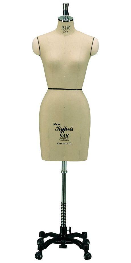 《キイヤ》 レディース用ダミー New Kypris 9AR-COC ニューキプリス A体型 カクテル(Cocktail)服種別ボディ【※代引き不可】