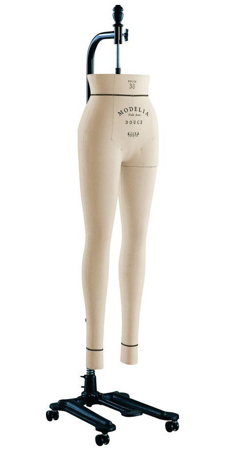 《キイヤ》 レディース用ダミー MODELIA MF-DUN-P モデリア ヌードフォーム ドゥース38 ファム パンツボディ(DOUCE 38 Femme Pants)【※代引き不可】