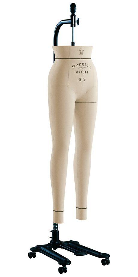 《キイヤ》 レディース用ダミー MODELIA MF-MAN-P モデリア ヌードフォーム マチュール38 ファム パンツボディ(MATURE 38 Femme Pants)【※代引き不可】