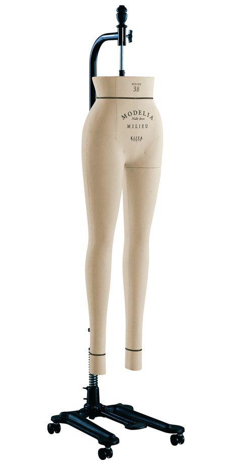《キイヤ》 レディース用ダミー MODELIA MF-MLN-P モデリア ヌードフォーム ミリュ38 ファム パンツボディ【※代引き不可】(MILIEU 38 Femme Pants)