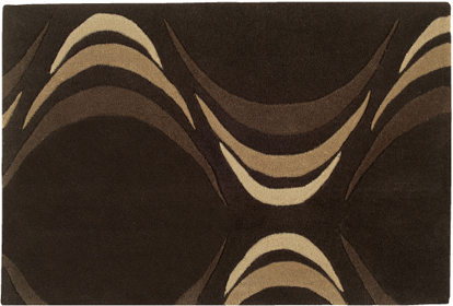 It's not just the front door! 60 * 90 cm matte Brown waves ☆ now so I'm selling popular doormats on sale in limited time ★ cheap price! Please purchase before supplies run out! Ideal for accent mat, East limit