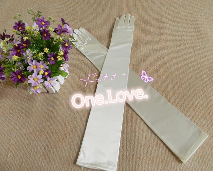 シンプルなウェディング ロング グローブ 肘上 手袋 即納 10P03Dec16 メール便限定送料無料 お気に入 メール便送料無料 期間限定特価品