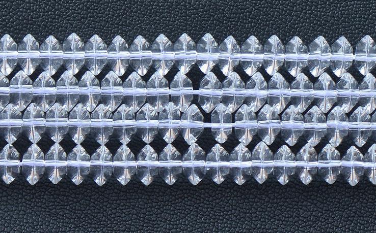 クォーツ水晶1連34cm AAAAAカット 贈与 クリスタルクォーツ 水晶 3 ブラジル産 限定Special Price 8mm パワーストーン玉径約r22