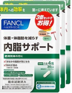 ファンケル FANCAL 内脂サポート徳用3袋セット 機能性表示【店頭受取対応商品】