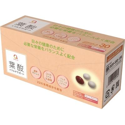 葉酸 asaka-la+マルチサポート 30袋入 あすか製薬【ASS】
