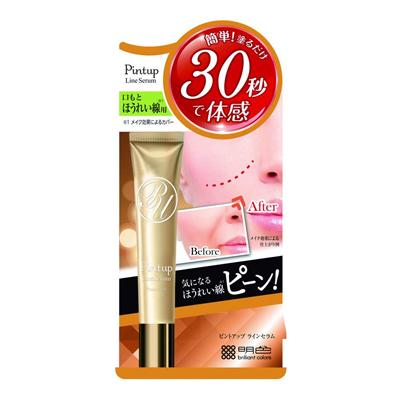 国内即発送 激安通販ショッピング 口もと ほうれい線用美容液 ピントアップ ラインセラム PT 18g 明色化粧品
