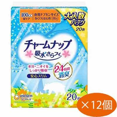 【送料無料】チャームナップ 多くても安心用 20枚×12個パック(1ケース) ユニ・チャーム【PT】