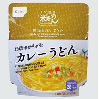 米粉 カレーうどん 73g 30袋/箱 尾西食品【送料無料】