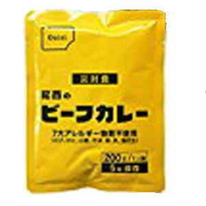 防災食 非常食 ビーフカレー 200g 60袋/箱 尾西食品【送料無料】