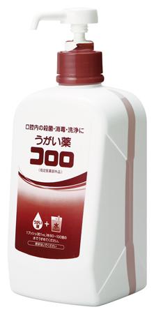 【ケース買い】うがい薬 コロロ 1L ポンプ付き 6本/箱 うがいで感染対策・口臭対策 東京サラヤ 指定医薬部外品