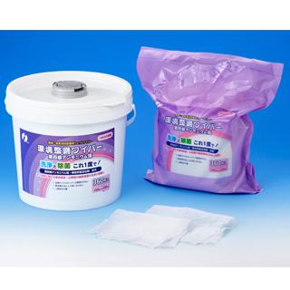環境整備ワイパー 4級アンモニウム塩 360枚詰替え4袋付【セット品】