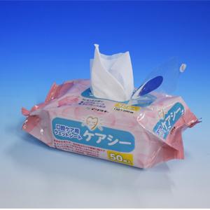 口腔ケア用 ウエットシート ケアシー 50枚入 40袋/箱