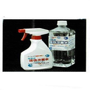 【詰替え用】除菌活性次亜水 RUSウォーター 1リットル 12本/箱  【送料無料】※スプレーボトルは付いていません。