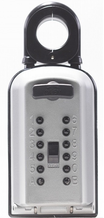 カギ番人 プラス PC10(南京錠型) カバー付 防犯用品 暗証番号 ケイデンセキュリティー機器販売
