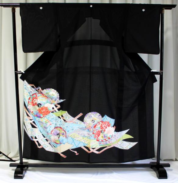 涼しい「レンタル留袖(絽・夏用)」 フルセット TRM9501A