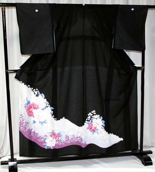 涼しい「レンタル留袖(絽・夏用)」 フルセット TRM9502B