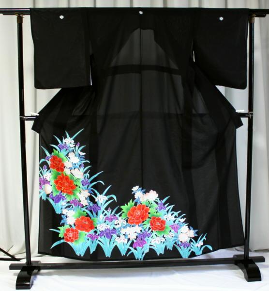 涼しい「レンタル留袖(絽・夏用)」 フルセット TRM9504A