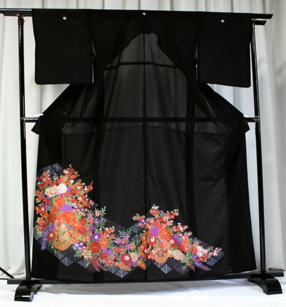 涼しい「レンタル留袖(絽・夏用)」 フルセット TRM9506B