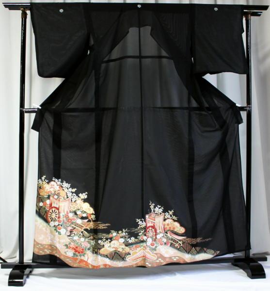 涼しい「レンタル留袖(絽・夏用)」 フルセット TRM9510B