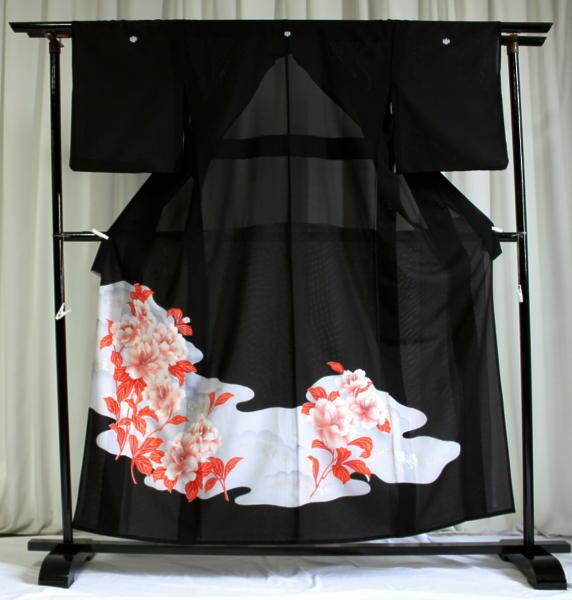 涼しい「レンタル留袖(絽・夏用)」 フルセット TRM9511B