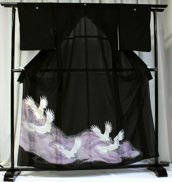 涼しい「レンタル留袖(絽・夏用)」 フルセット TRM9513D